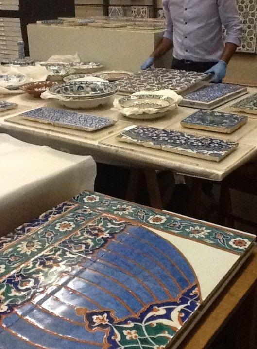Reserva cerâmica Iznik, Museu Gulbenkian
