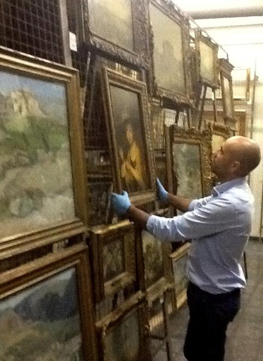 Reserva de pintura, Museu Gulbenkian