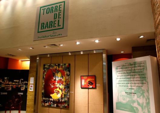 9Exposição Torre de Babel 1 - Joinville Brasil